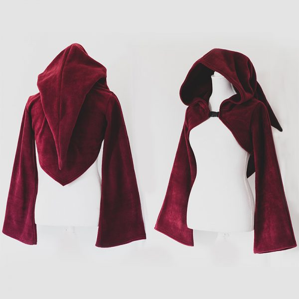 Red riding hood shrug