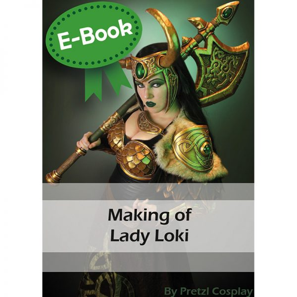 Lady Loki cosplay tutorial – E-book