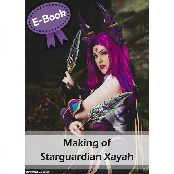 Starguardian Xayah cosplay tutorial E-book