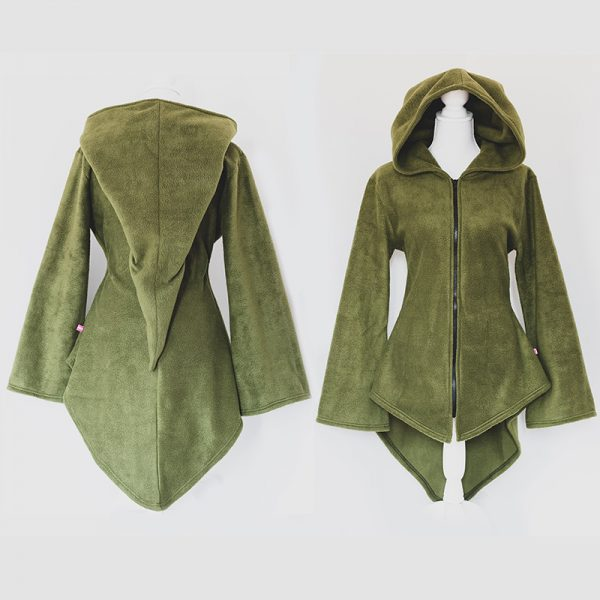 Wood elf tunic (with or without zipper)