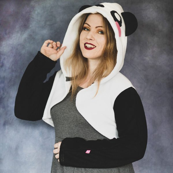 Kawaii panda shrug