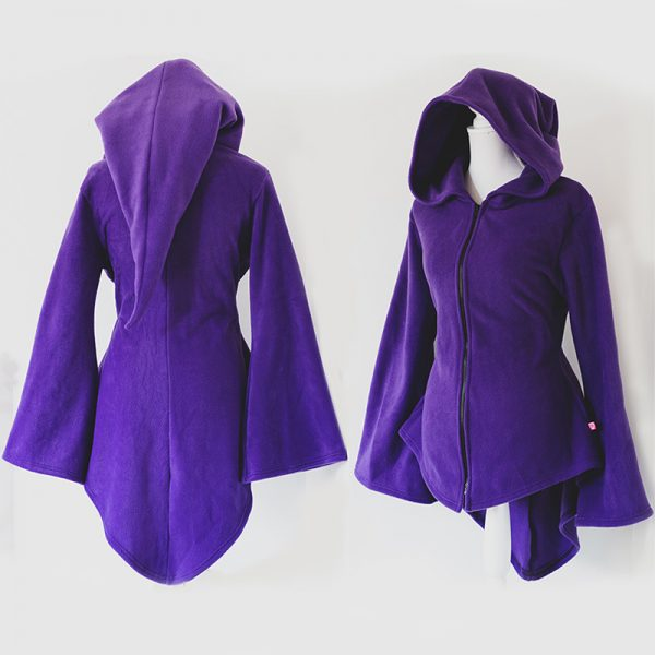 Mystical sorceress elf tunic size M (with zipper)