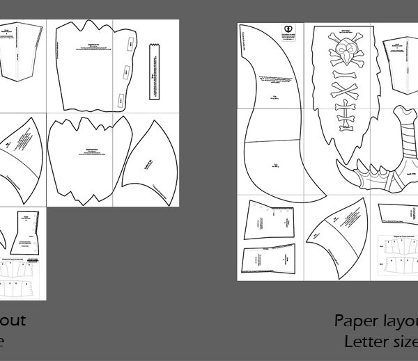 Gnar cosplay blueprints
