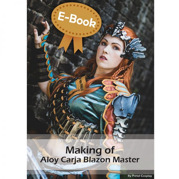 Aloy Carja Blazon Master cosplay tutorial – E-book