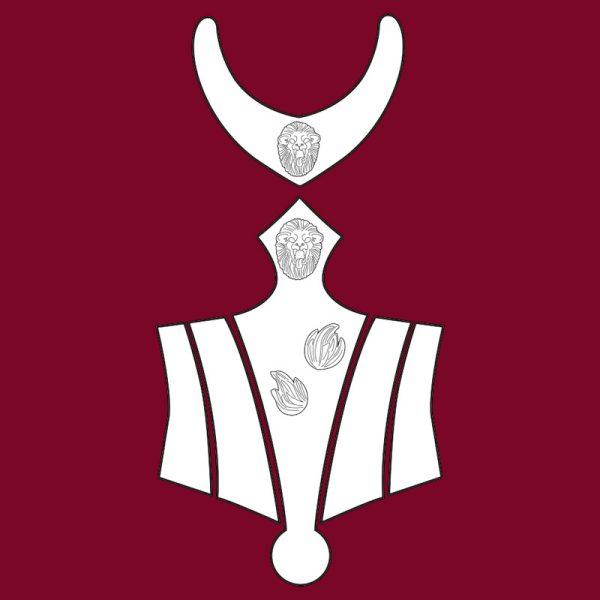 Cersei Lannister corset armor cosplay blueprints