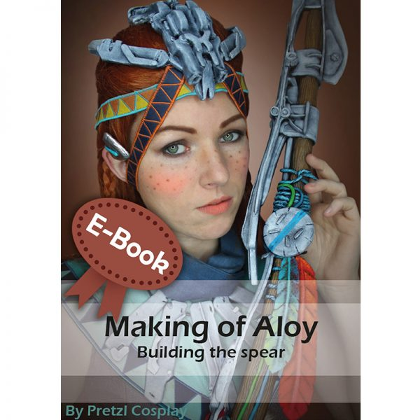 Aloy spear propmaking tutorial – E-book