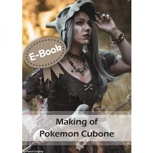 Cubone cosplay tutorial – E-book