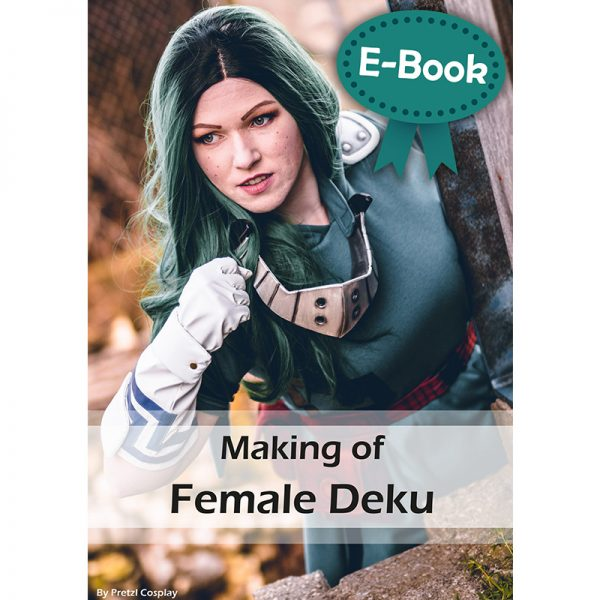 Female Deku cosplay tutorial – E-book