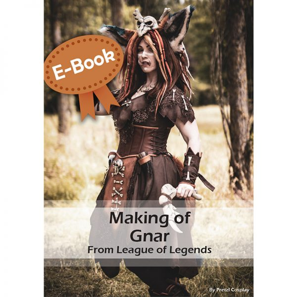 Gnar cosplay tutorial – E-book