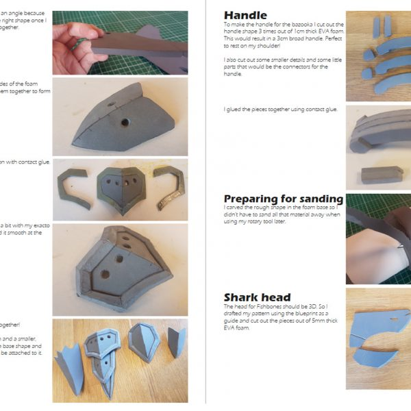 Jinx Fishbones propmaking tutorial – E-book