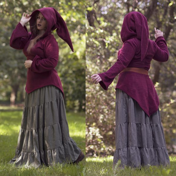 Blood elf tunic (with or without zipper)