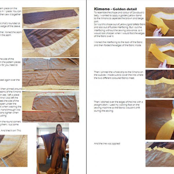 Sawsbuck Kimono cosplay tutorial – E-book