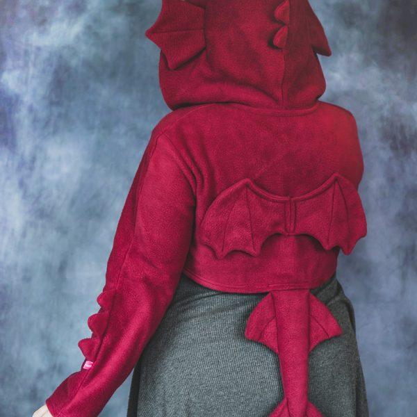 Red dragon shrug