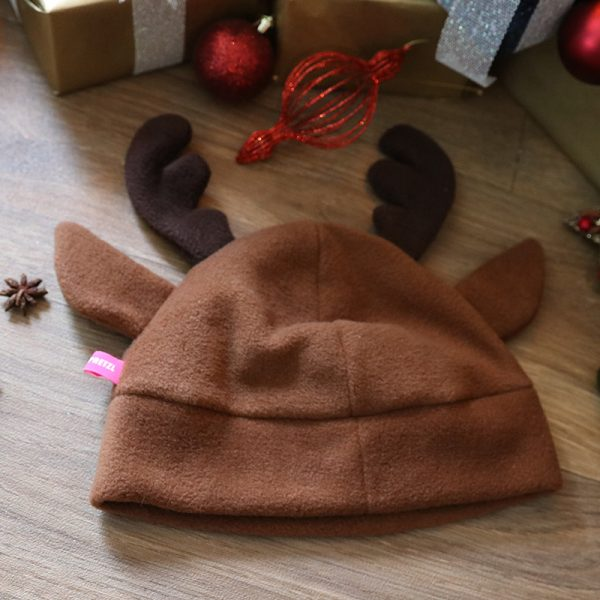 Reindeer beanie – So cute for Christmas!