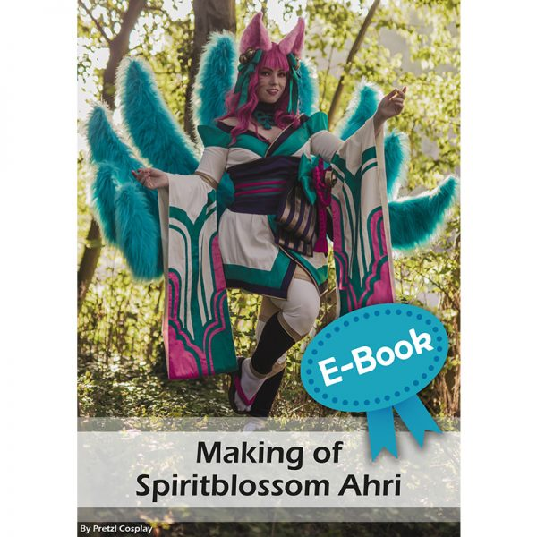 Spiritblossom Ahri cosplay tutorial E-book