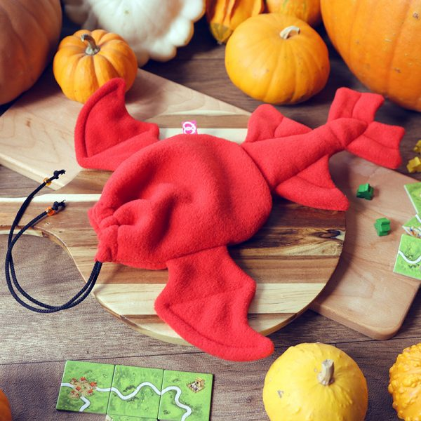 Red dragon dicebag