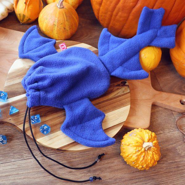 Blue dragon dicebag