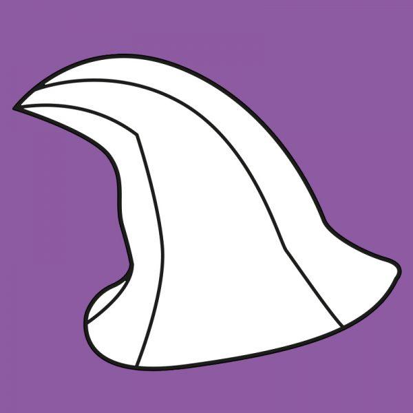 Modern witch/wizard hat pattern
