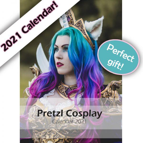Pretzl Cosplay calendar 2021