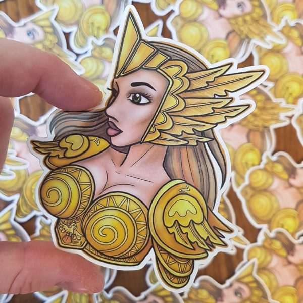 Pidgeot cosplay sticker (vinyl sticker)