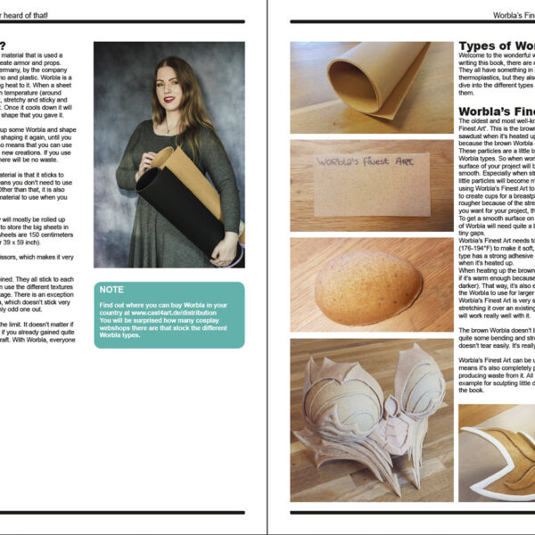 The Ultimate Guide to Worbla – E-book