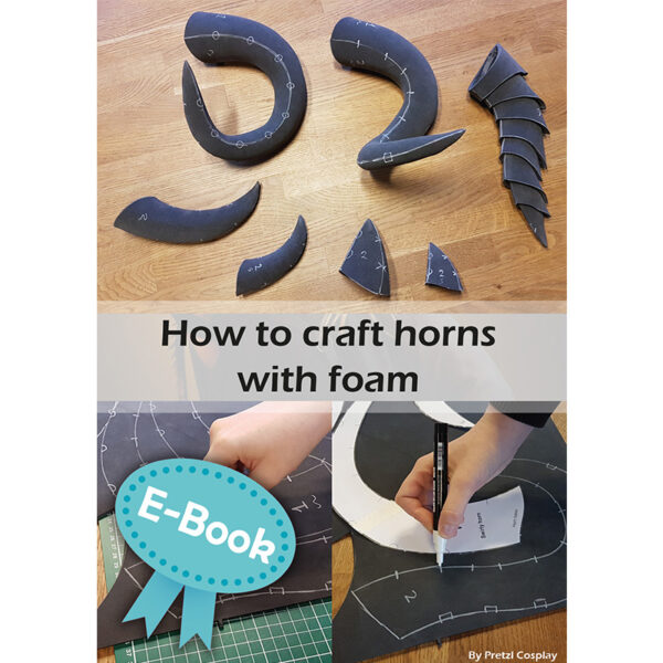 Making horns with EVA foam tutorial – E-book