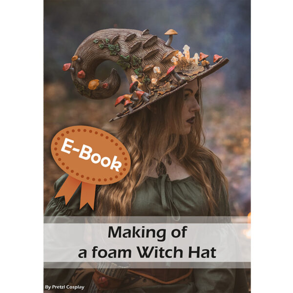 Making an autumn witch hat with EVA foam tutorial – E-book