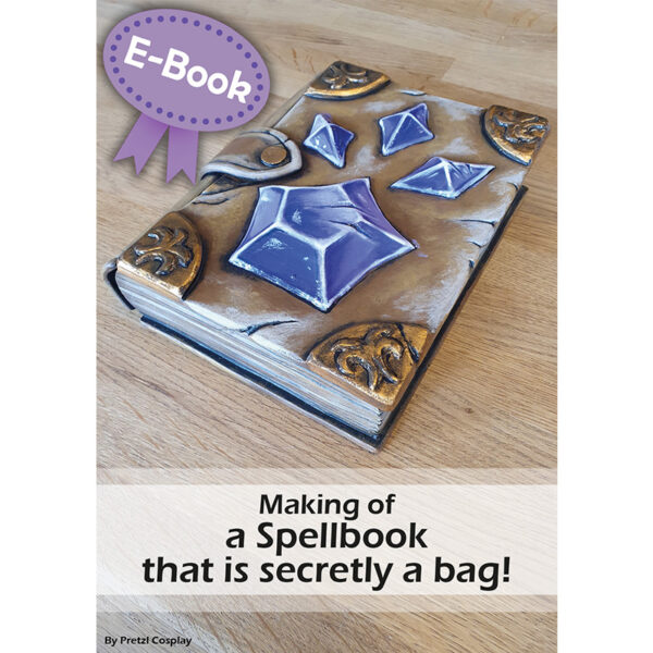Making a spellbook bag with EVA foam tutorial – E-book