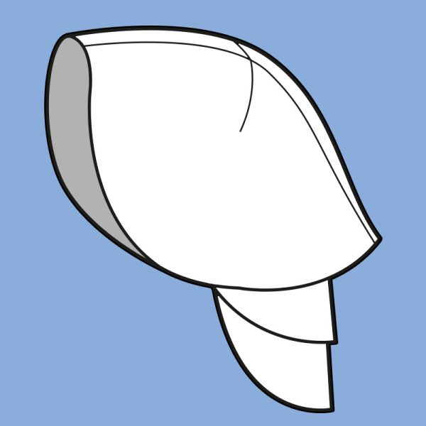 Knight shoulder armor pattern