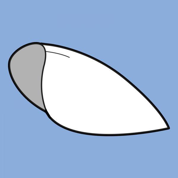 Plate shoulder armor pattern