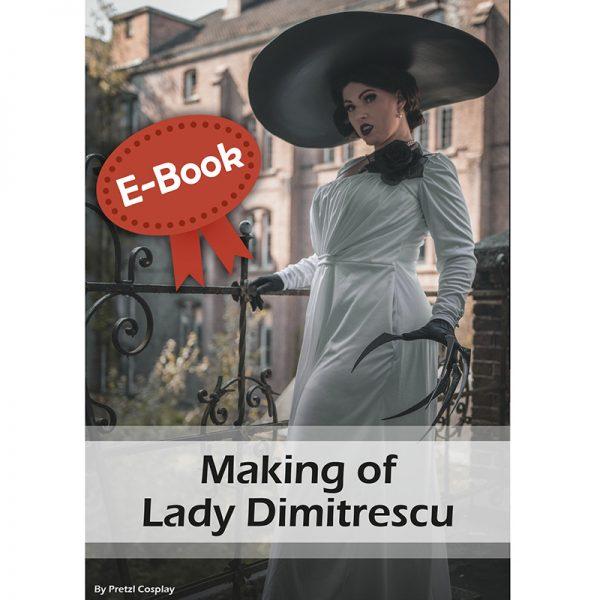 Making Lady Dimitrescu cosplay tutorial – E-book