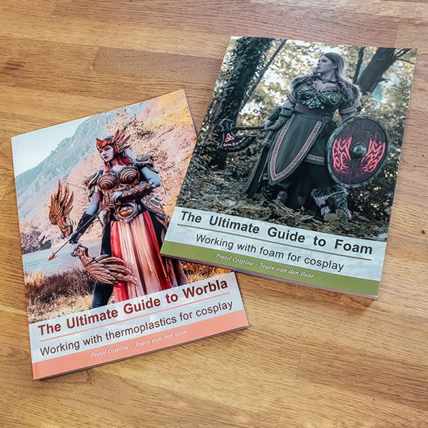 Worbla and Foam crafting books bundle – Print version and/or PDF