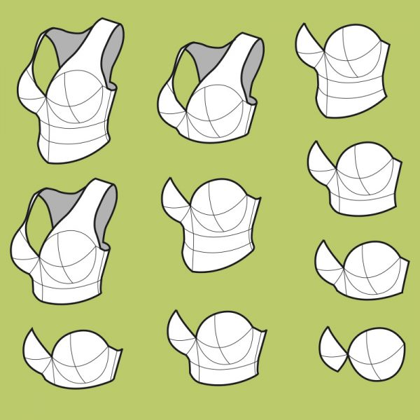 Elven Breastplate pattern collection – 10 variations